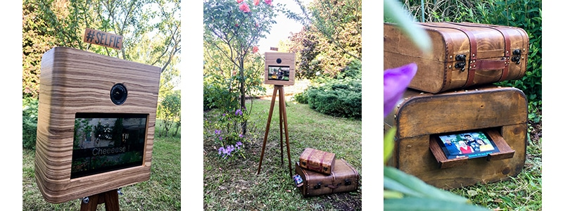 vintage photobooth, retro booth, photmaton, sharingbox, animation location borne photo instantannée polaroid lyon, rhone alpes